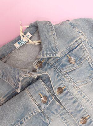 Giubbino jeans elasticizzato