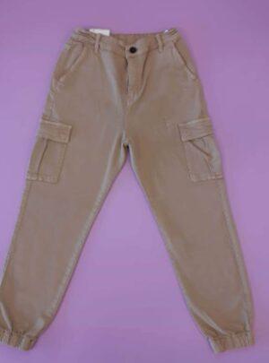 Pantalone cotone tascone