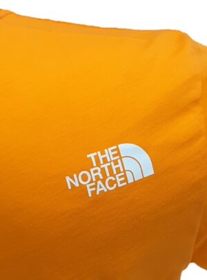 The North Face T-shirt arancio