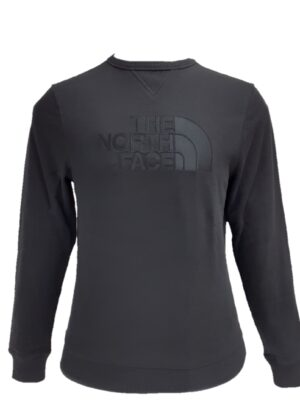 The North Face felpa girocollo nera