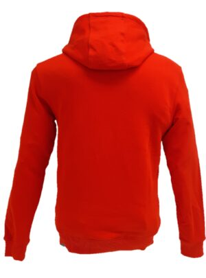 The North Face Felpa con cappuccio rossa
