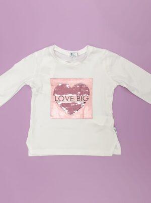 T-shirt manica lunga cotone
