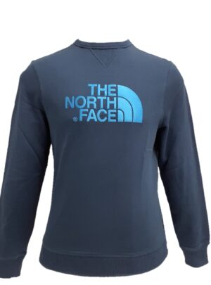 The North Face felpa girocollo blu