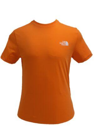The North Face T-shirt arancio