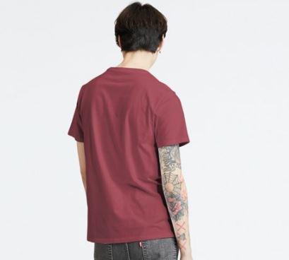 Levis t-shirt amaranto