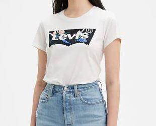 Flora T-shirt bianca