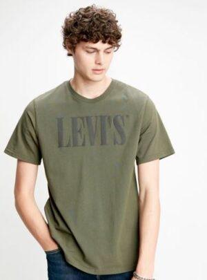 Levis T-shirt logo scuro