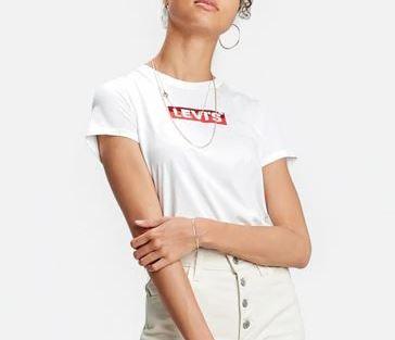 Box T-shirt bianca