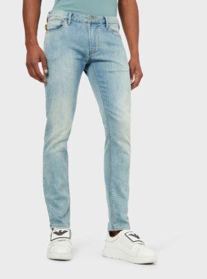 Twill jeans azzurro