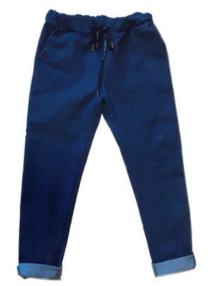 Pantalone Blue Jeans effetto tuta