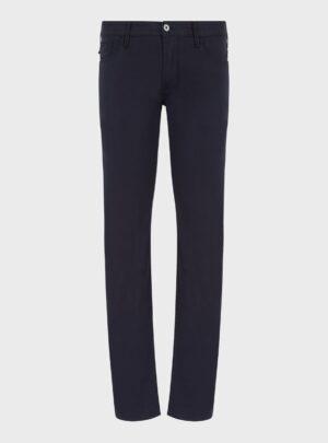 Pantalone in Raso blu