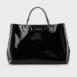 Shopper MyEA Bag vernice nera grande A