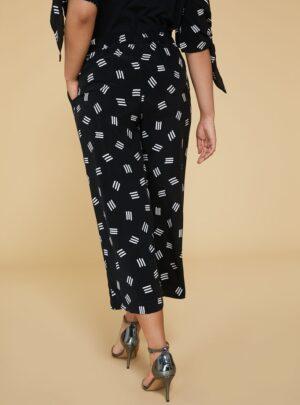 Rendere Pantaloni cropped stampati