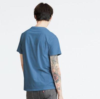Levis T-shirt celeste