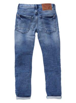 Jeans denim blu