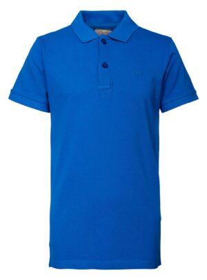 Polo azzurra