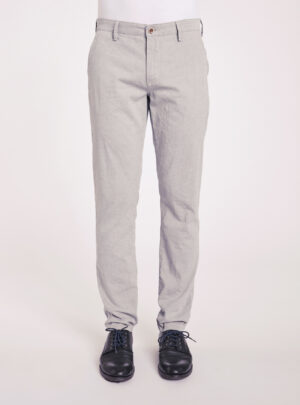 Pantaloni cotone chiaro