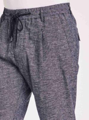 Pantaloni cotone e lino