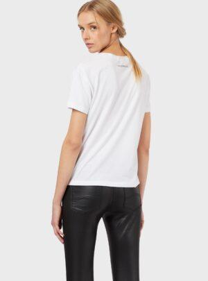Rilievo T-Shirt bianca