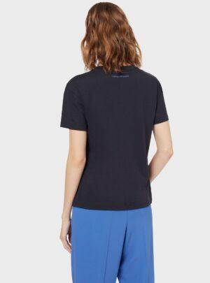 Rilievo T-Shirt  blu