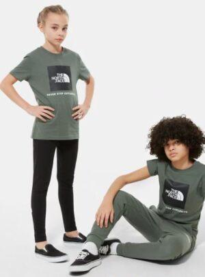 T-Shirt grigio/verde