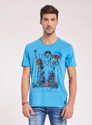 T-Shirt azzurra