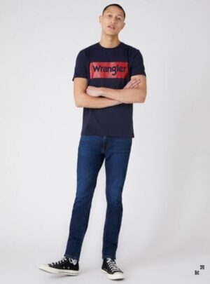 Wrangler T-Shirt blu