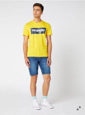 Wrangler T-Shirt gialla