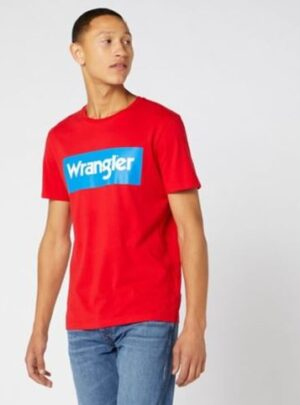 Wrangler T-Shirt rossa