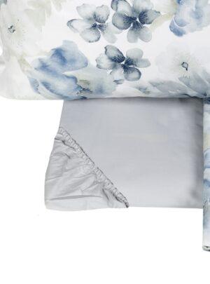 Fazzini completo letto blu