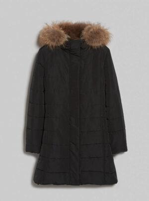 Coat imbottito con cappuccio