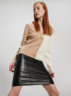 Cardigan in lana e cashmere