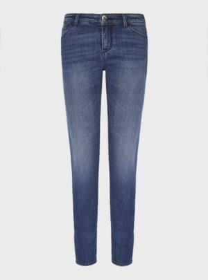 Jeans J23 push-up in denim used wash