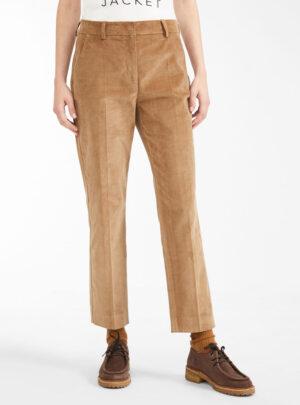 Pantaloni in velluto di cotone