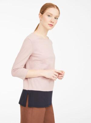 Maglia in jersey di cotone