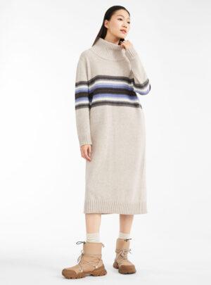 Abito in filato di lana