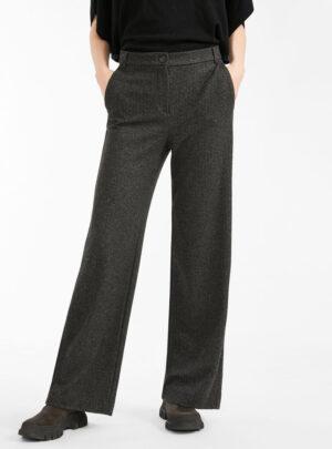 Pantaloni in jersey flanella