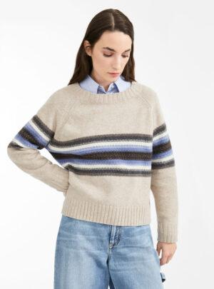 Maglia in filato di lana
