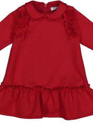 Abito rosso bimba 03-36 mesi Melby