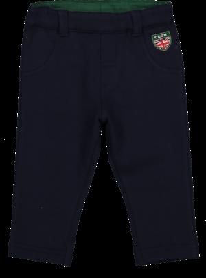 Pantalone felpa blu 06-36 mesi bimbo Melby