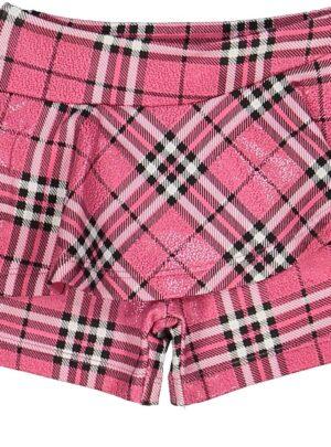 Gonna pantalone scozzese rosa 06-36 mesi bimba Melby