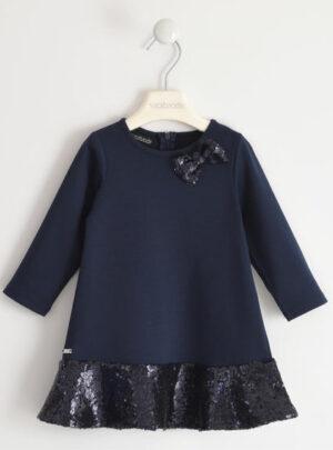 Elegante abito in punto milano per bambina da 3 a 7 anni Sarabanda