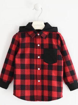 Camicia per bambino fantasia check da 3 a 7 anni Sarabanda