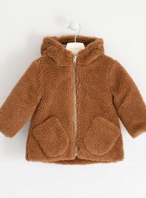 Cappotto modello teddy reversibile per bambina da 3 a 7 anni Sarabanda