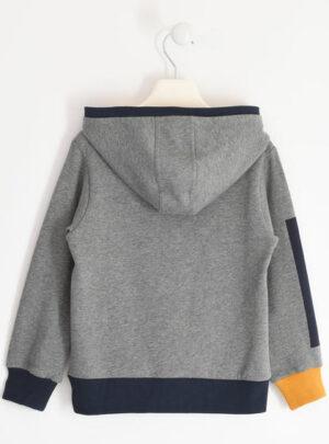Felpa invernale con cappuccio in jersey per bambino da 8 a 16 anni Sarabanda