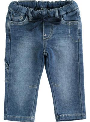 Pantalone in denim maglia molto morbido per bambino da 3 a 7 anni Sarabanda