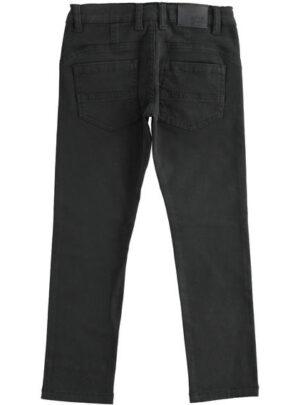Comodo e classico pantalone in twill slim fit per bambino da 8 a 16 anni Sarabanda