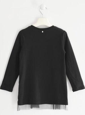 Maxi maglietta con tulle per bambina da 8 a 16 anni Sarabanda