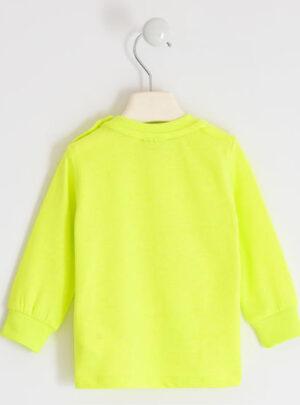 Colorata maglietta con stampa in rilievo per bambino da 3 a 7 anni Sarabanda