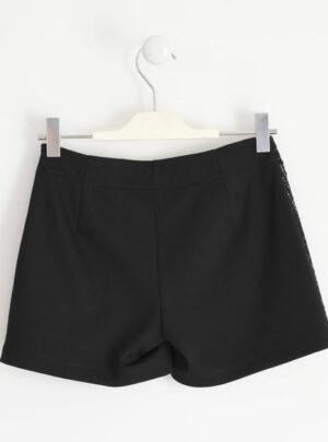 Grazioso shorts effetto gonna in punto milano per bambina da 8 a 16 anni Sarabanda